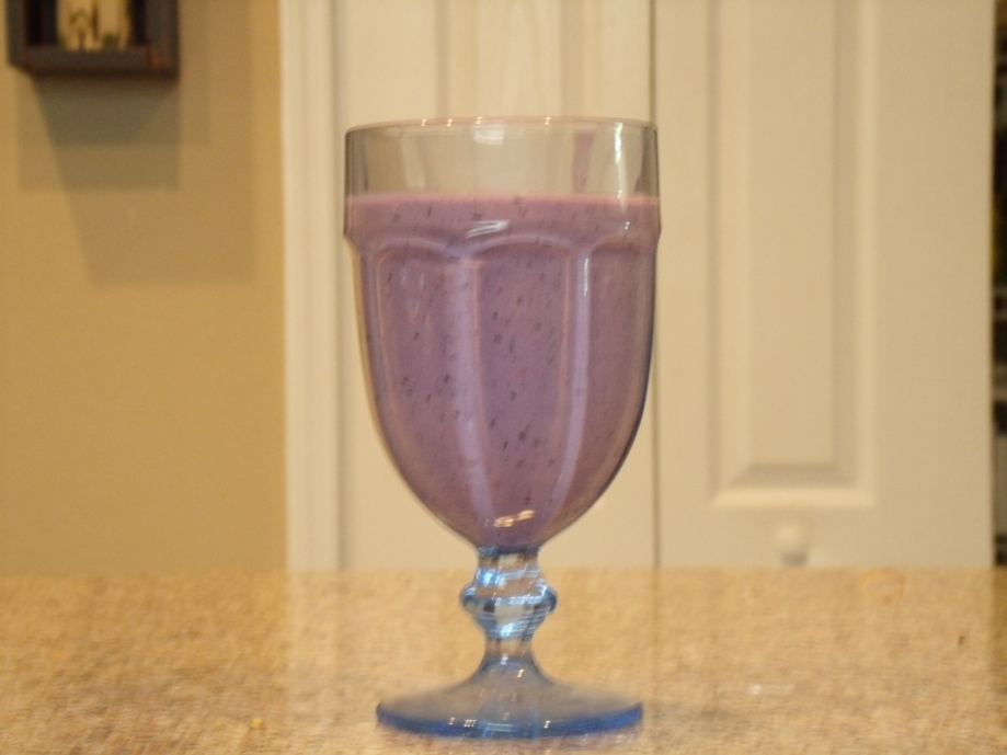 Muscle Berry Blast Shake.