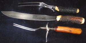 Carving Knife and Forks